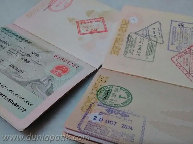 Kenangan pasport Malaysia