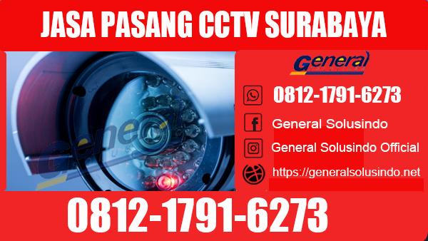 Jasa Pasang CCTV Tambaksari Surabaya