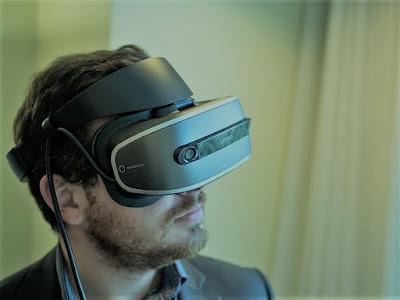 Visore realtà virtuale autonomo Lenovo: prossimo CES 2018