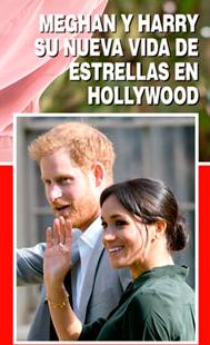 Nueva vida de Meghan y Harry en Hollywood