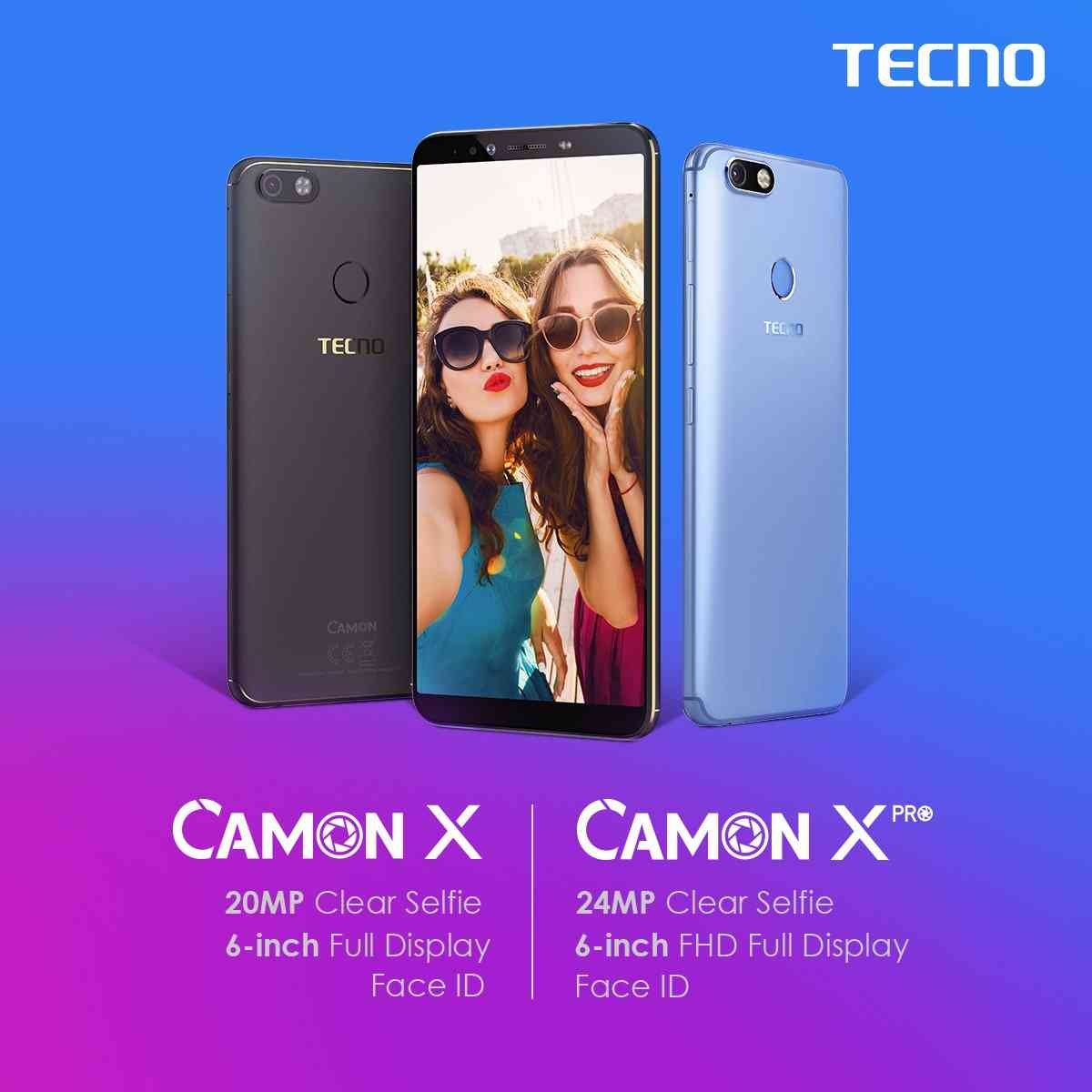 Tecno Camon X and X Pro Full Phone Specifications, Features, Review, Unboxing and Price.