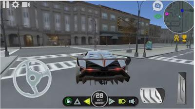 Car Simulator Veneno APK (Game Latihan Nyetir Mobil)