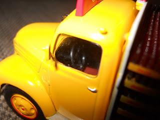 interior camion diecast