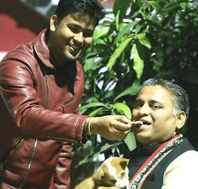 Pranab Kr Nath: Picture taken with Sunil V. Deodhar