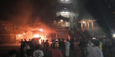 Mengeluh Suara Adzan Mengganggu, Vihara Di Tanjung Balai Jadi Sasaran Umat Muslim