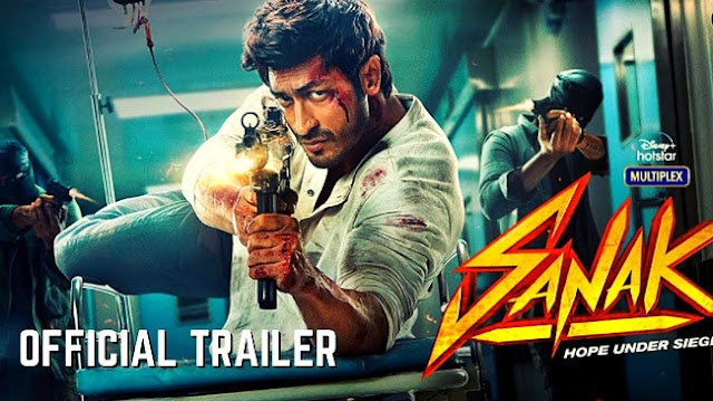 Movie Sanak Trailer