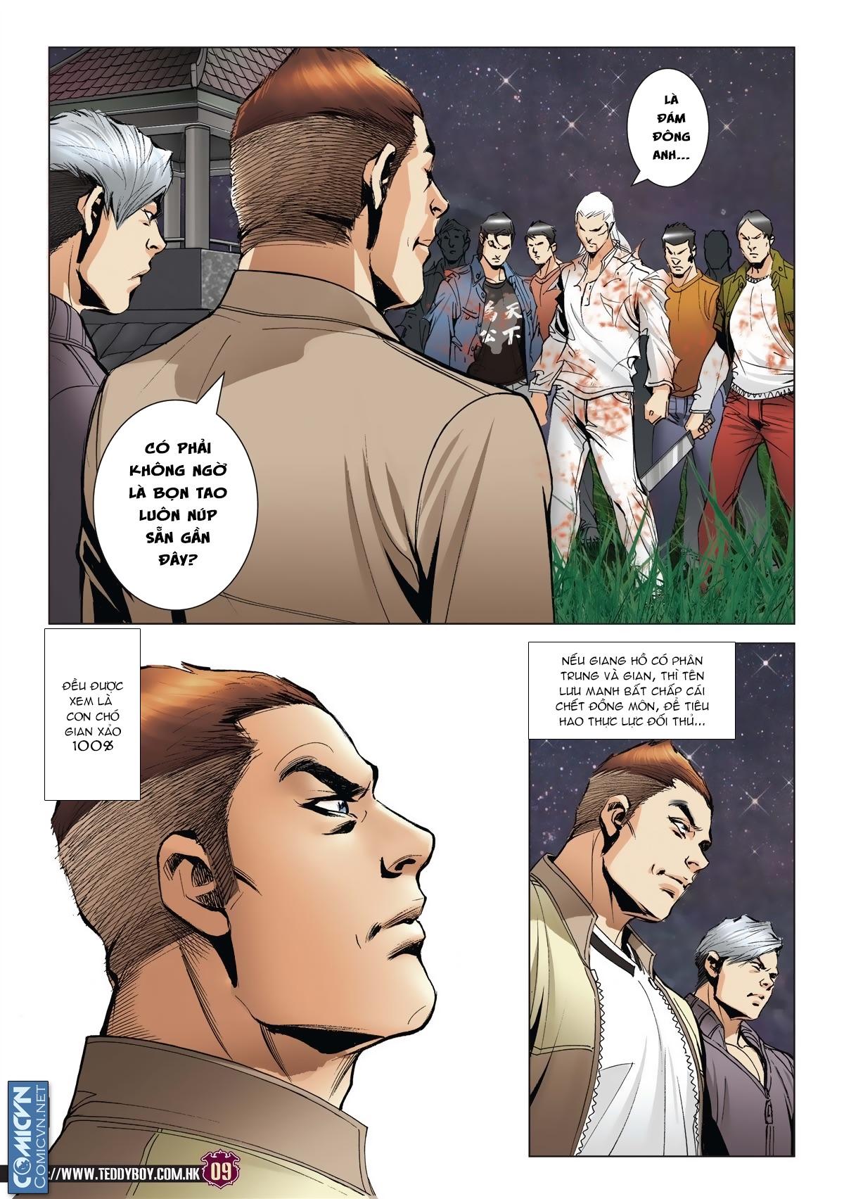 Người Trong Giang Hồ chapter 1985: bốc shit trang 6
