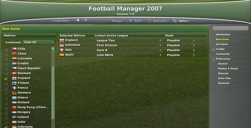 Football Manager 2007 PC Full Español