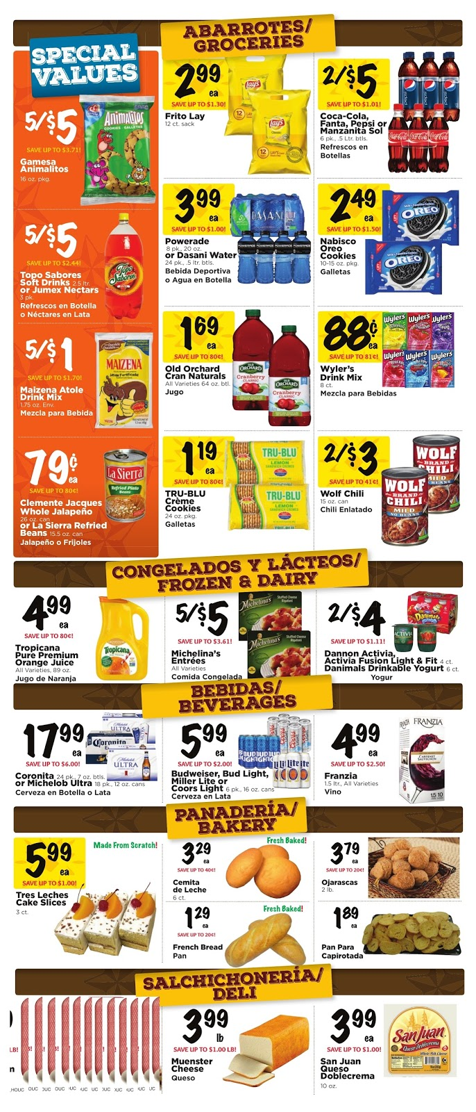 Furniture Stores Houston Texas Fiesta Mart Weekly Ad February 22 – 28 , 2017 | Weekly Ads ...