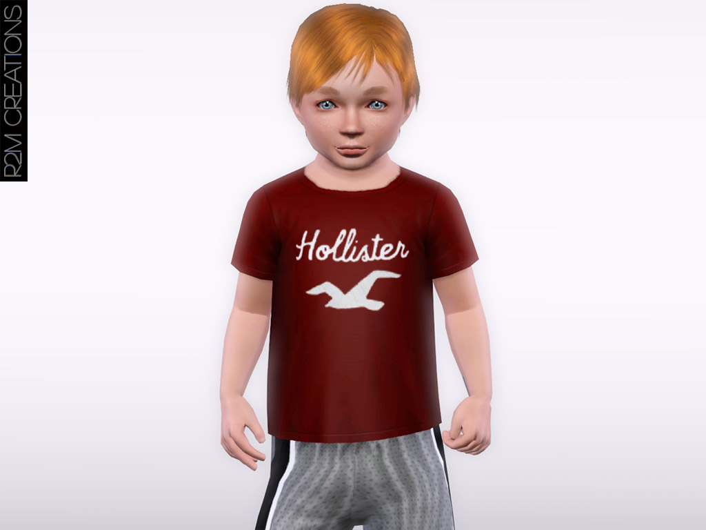 Hollister shirt for toddler - R2M Creations