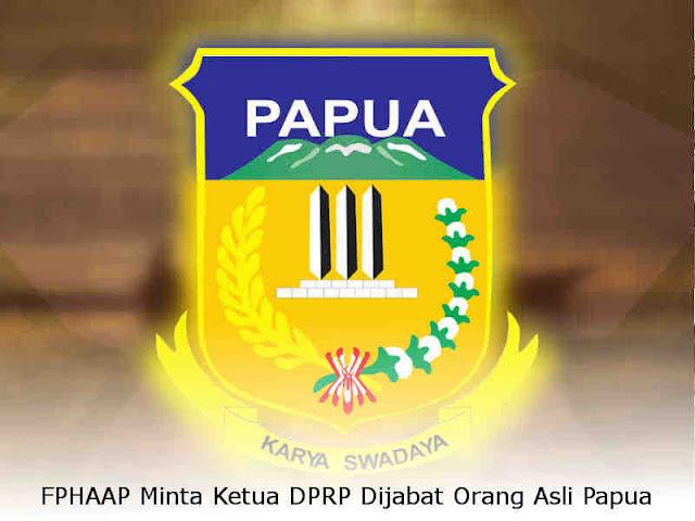 FPHAAP Minta Ketua DPRP Dijabat Orang Asli Papua