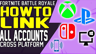 How to link Fortnite account to multiple platforms, Look at this