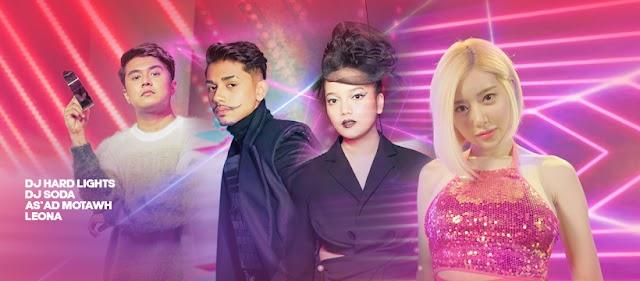 XENO Berkolaborasi Dengan DJ Hard Lights (France) Dan DJ Soda (Korea) Untuk Lagu Viral Potato