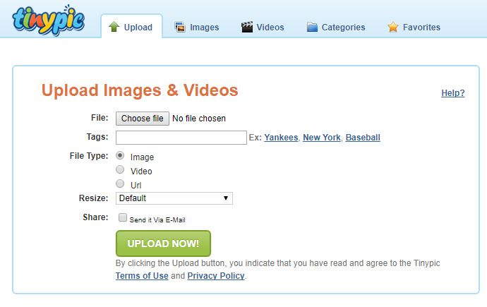 Free Image Hosting TinyPic