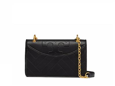 Alexa Leather Satchel Bag