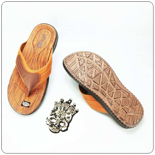 Pusat Grosir Sandal Kulit Imitasi PRIA | Sandal Imitasi Insole Pria | Harga Termurah
