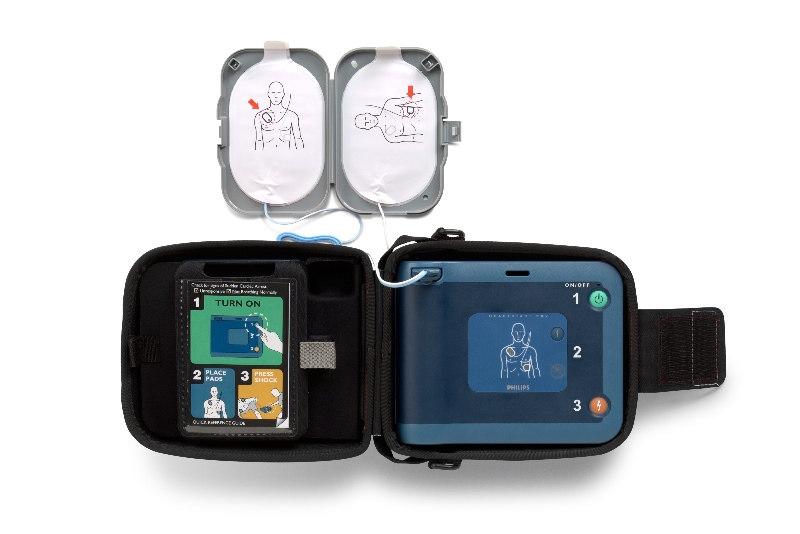 AEDs are designed to help you even if you have never seen the device before.