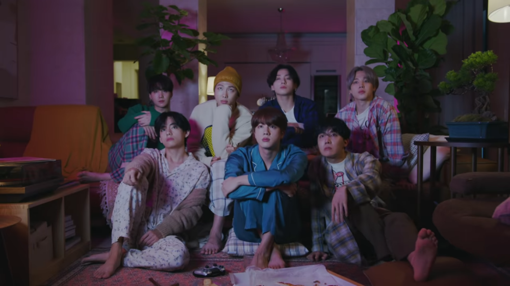BTS Members Gather in The 'Life Goes On' First MV Teaser