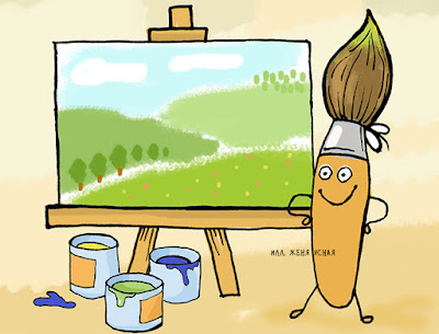 творчество картинки, кисточка рисунок, детский художник