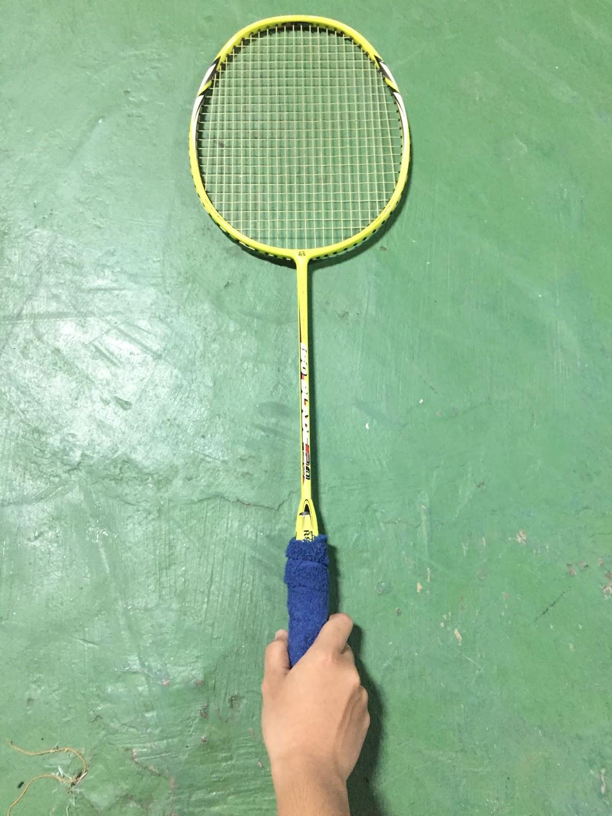 Pegangan Raket : pegangan, raket, BadmintonSport:, Teknik, Dasar, Bulutangkis
