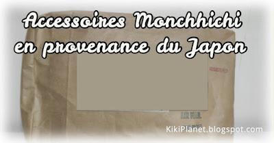 kiki Monchhichi accessoires japon exclusif