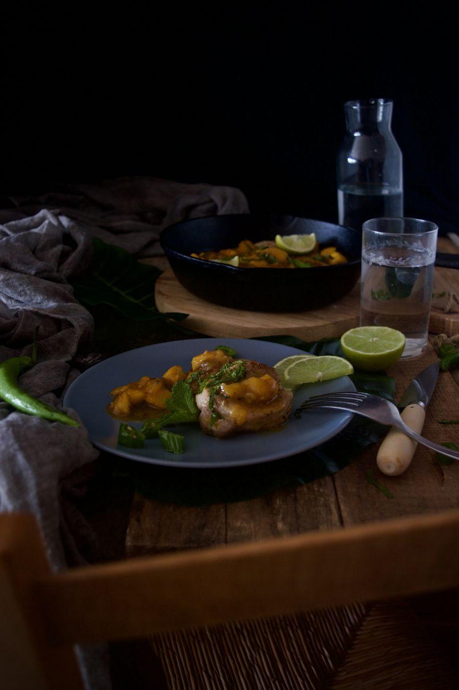 solomillo-de-cerdo-glaseado-con-salsa-de-mango