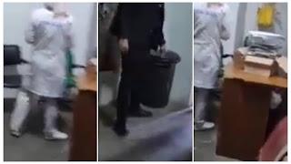 فضيحة ..  عبير موسي شدّت صحافي بالقناة الوطنية مع عاملة النظافة يمارسون....... داخل البرلمان ؟