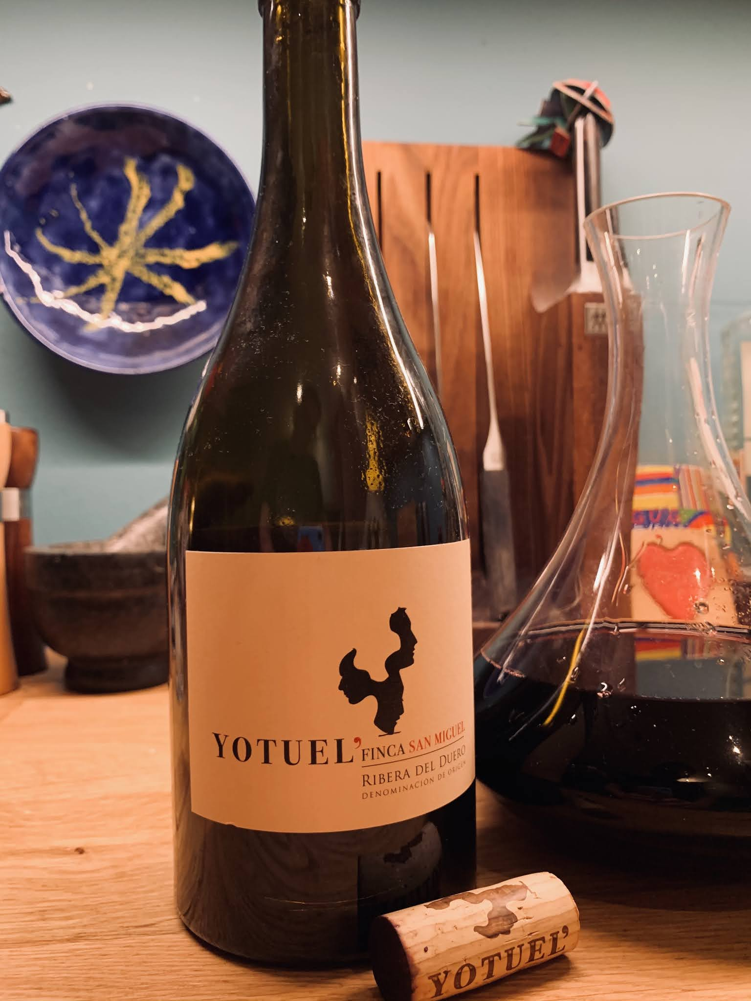 """Yotuel Finca San Miguel – najdroższe wino z degustacji """"Kardiologia po hiszpańsku"""""""