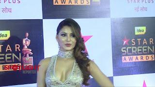 Urvashi Rautela sizzles at Star Screen Awards 2016