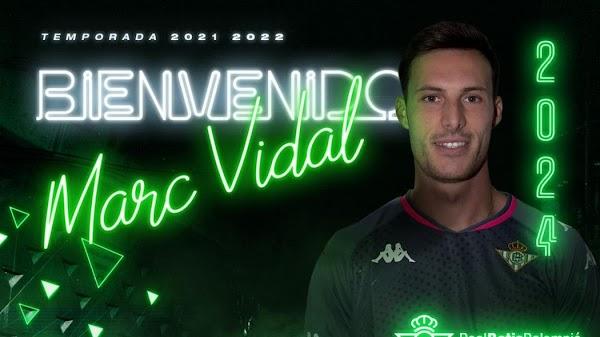 Oficial: El Betis Deportivo ficha a Marc Vidal