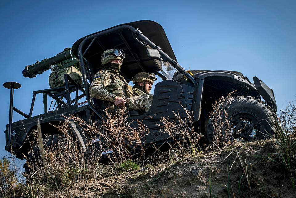 93-я бригада отримала всюдиходи UTV для ПТРК Стугна