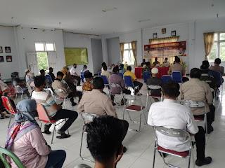Gelar Silaturahmi Dengan Masyarakat,  Kapolres Pangkep: Mari Ciptakan Pilkada Damai