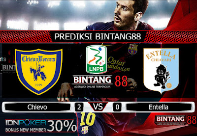 Prediksi Skor Chievo VS Entella 26 November 2019