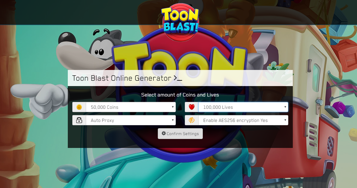 Toon Blast Hack Unlimited Coins and Gems Android/iOS
