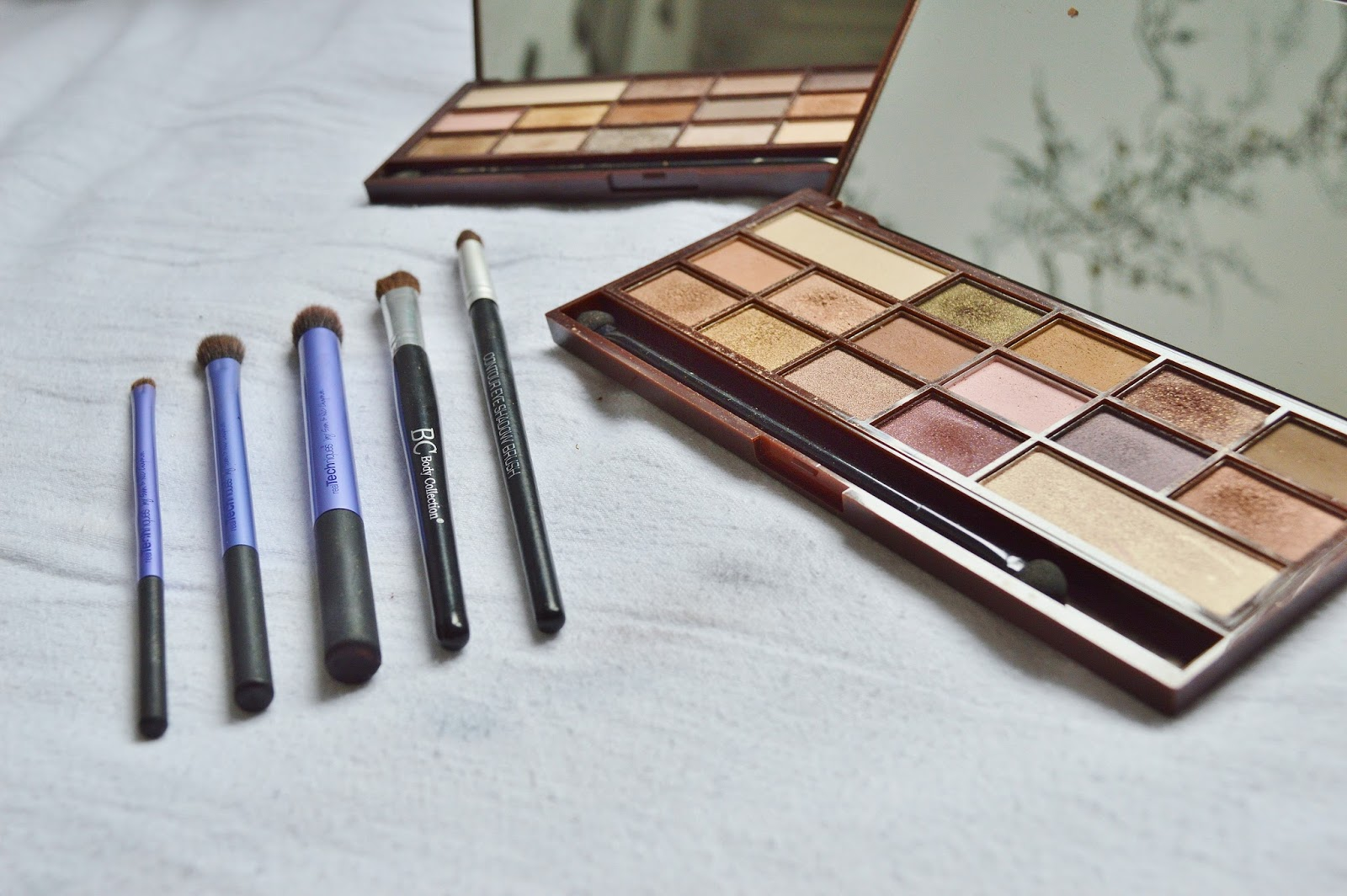Make Up Revolution Chocolate Palettes