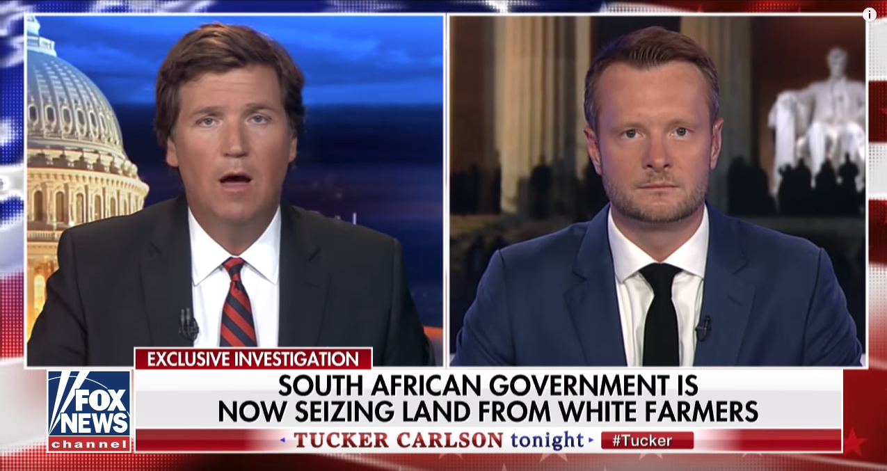 South African man endorses Trumps controversial land tweet