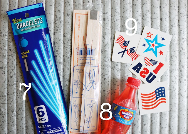 Fourth July Celebration Favor Bag Fillers 3