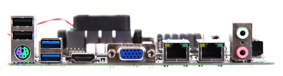 GIADA N70E-DR External Connectivity
