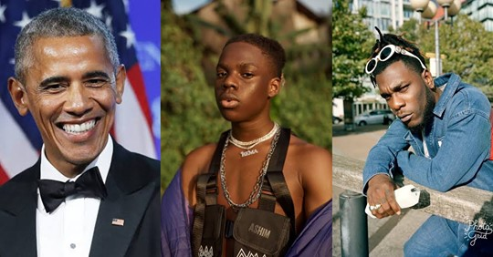 Nigerian stars Burna Boy & Rema's songs make Barack Obama's list of favorite tracks in 2019