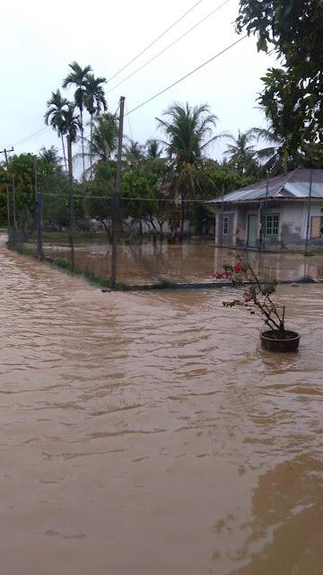 Kadis Kominfo Asahan : Luapan Air Sungai Akibatkan 263 KK Terendam