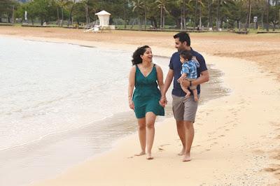 Magic Island Beach Stroll