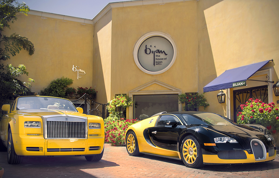 Passion for luxury house of bijan in beverly hills for Rolls royce of beverly hills