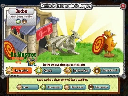 Dragon City: Dragão Origami | 406x544