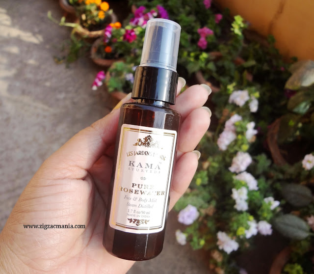 Kama Ayurdeva Pure Rose Water Review