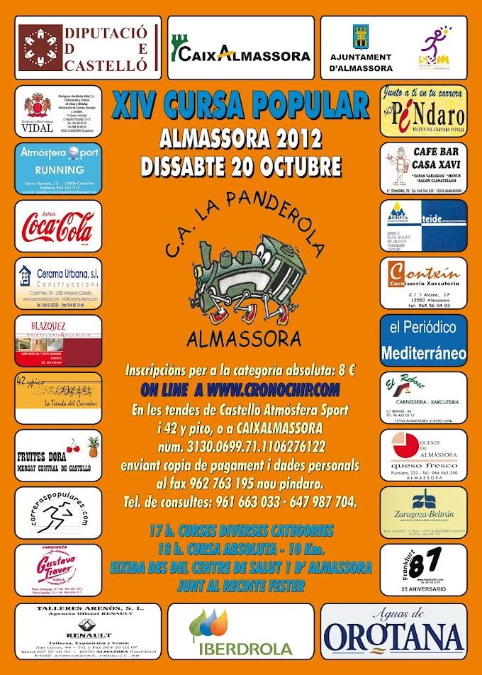 XIV CURSA POPULAR D'ALMASSORA