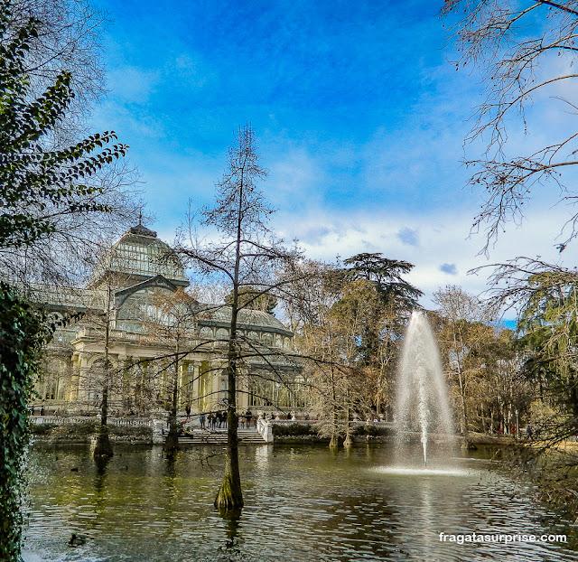 Palácio de Cristal, Parque do Retiro, Madri