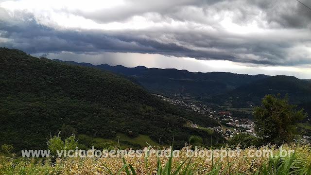 Bela paisagem no interior de Nova Petrópolis, Serra Gaúcha