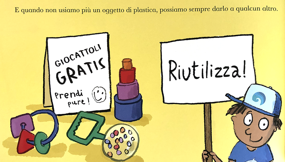 un pianeta pieno di plastica