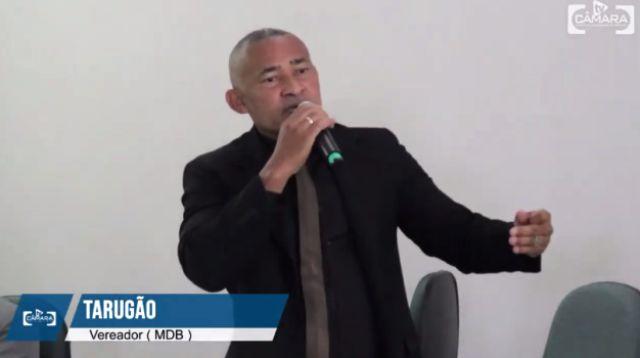 PT, PC do B e PSOL vão à justiça contra vereador Tarugão, por acusar partidos de induzir uso de drogas