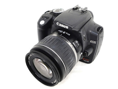 Canon EOS Kiss Digital N DSLRファームウェアのダウンロード